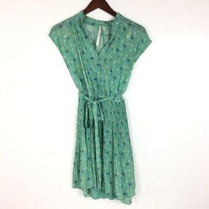 LC LAUREN CONRAD Dress Size 8 Sheer Mint Green
